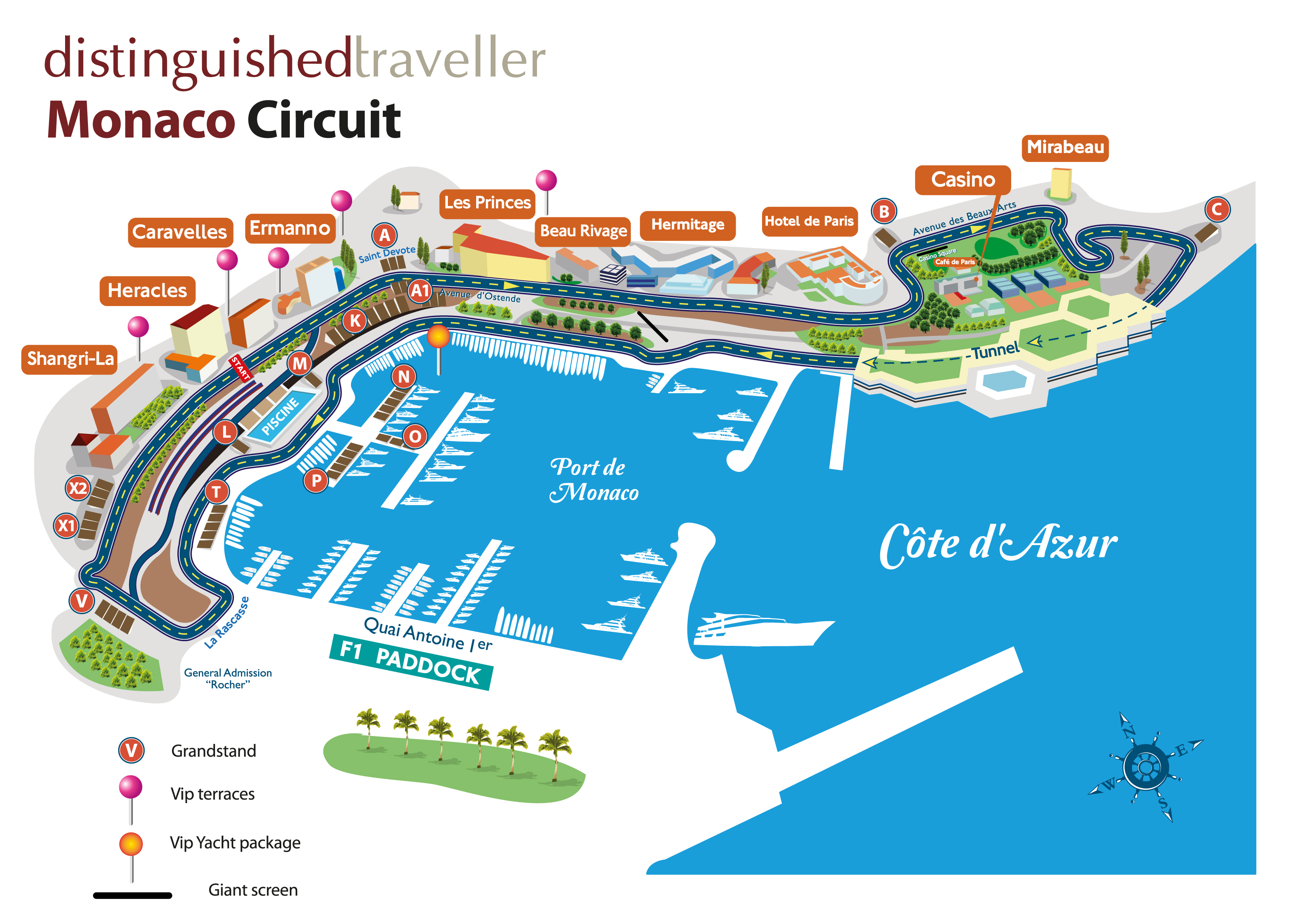 monaco walking tourist map pdf