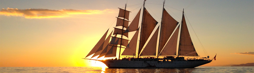 Tall Ship cruise around the Dalmatian Coast to and from Venice